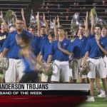 Trojan Band named Band of the Week by KVUE