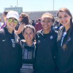 Girls Varsity Track finishes 4th place