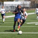Girls Varsity Soccer beat Akins  8-0