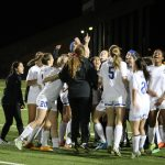 L C Anderson High School Girls Varsity Soccer beat Bowie High School In PK Shoot-Out, 4-2