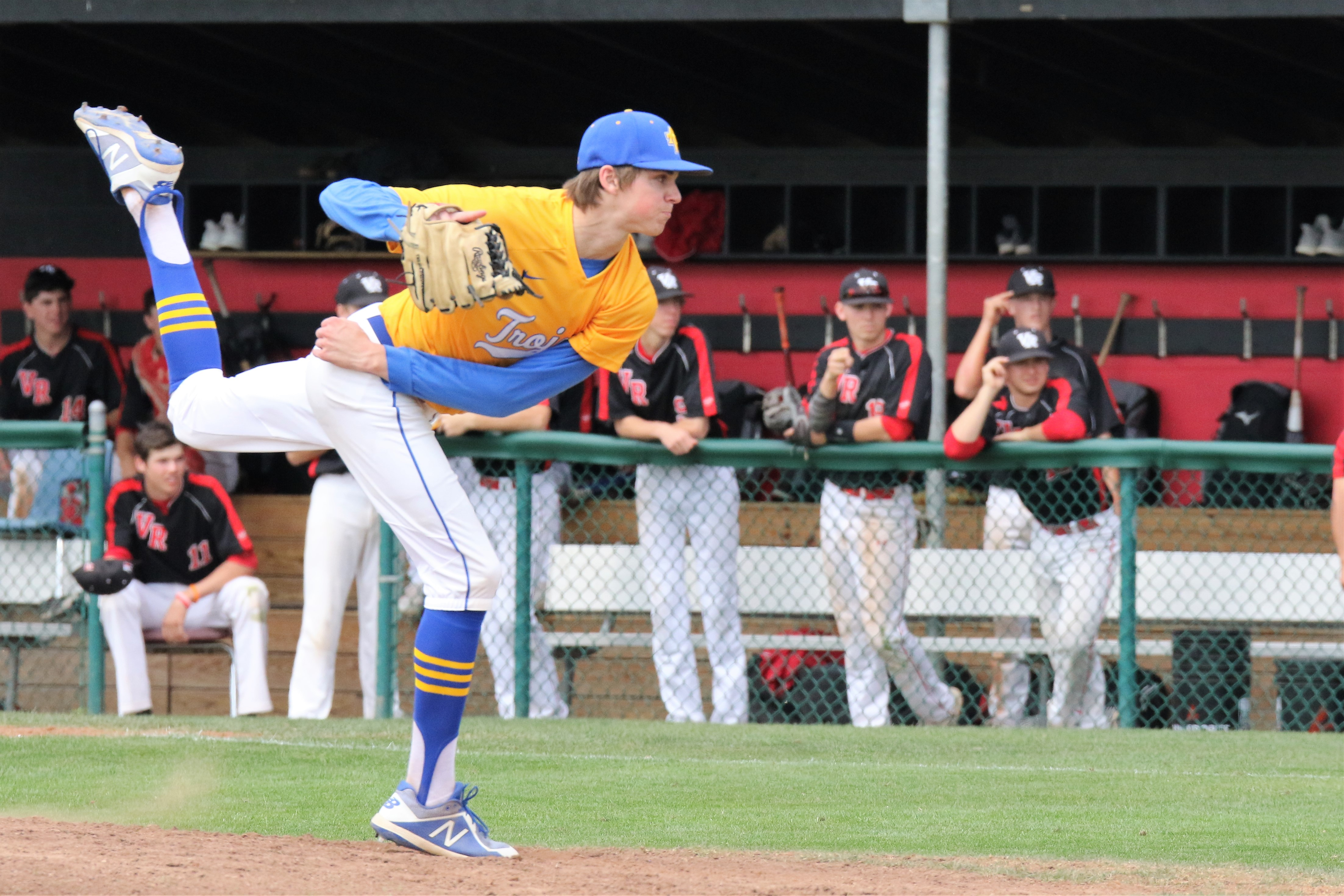 Mitchell earns pitcher of the week