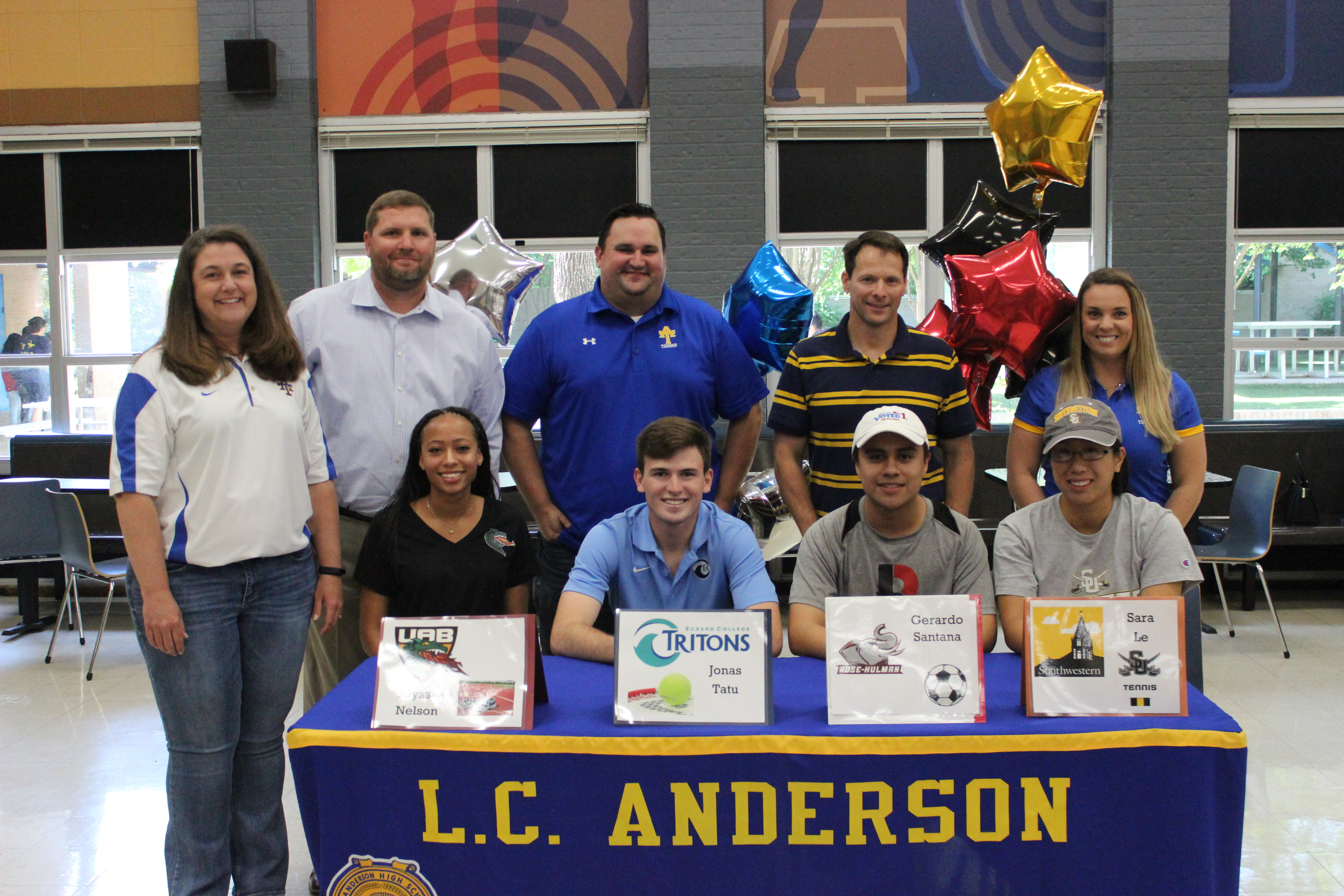 Trojan Athletes Commit to Play College Sports!