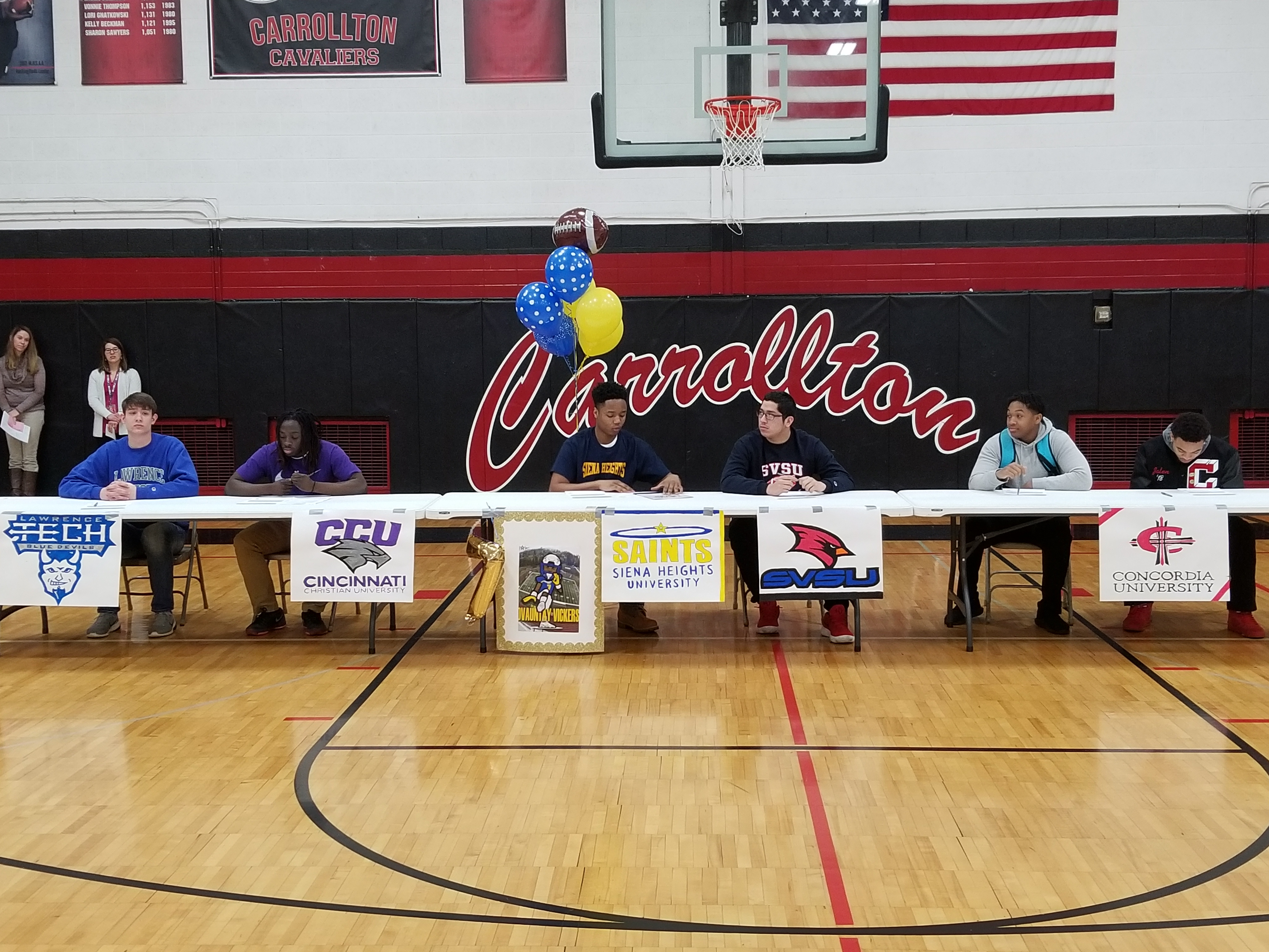 Six Cavs Sign Letters of Intent