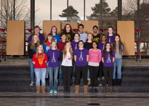 Focal Point French Club Yearbook Photo 2014-2015