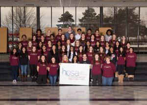 Focal Point HOSA Yearbook Picture 2014-2015