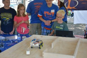 Lightning Robotics Community Event 2015