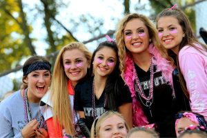 Plymouth Homecoming Game: Pink Out