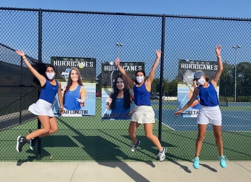 2020 Lady Hurricane Senior Tennis