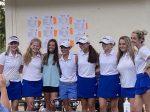 Girls Varsity Golf beats West Oak 181 – 187