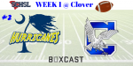 Varsity Football at Clover (Week 1)
