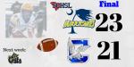 Boys Varsity Football beats Clover 23 – 21