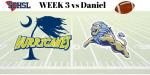 Varsity Football -Ticket information for Friday Night at Daniel H.S.