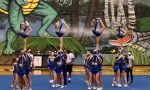 Girls Varsity Competitive Cheer finishes 1st place at River Bluff Competition