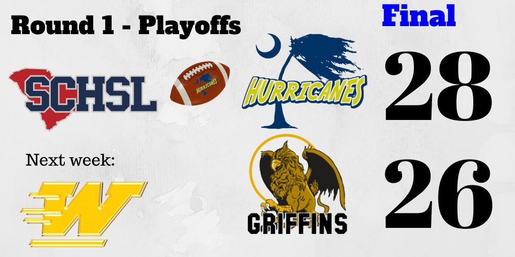 Varsity Football beats Fairfield Central 28 – 26