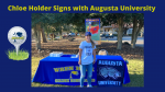 Chloe Holder signs with Augusta University