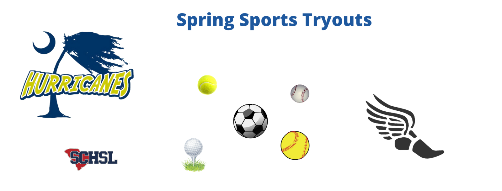 Spring Sports Tryouts – February 1st