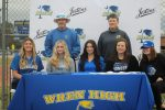 Softball Seniors' Signing Day