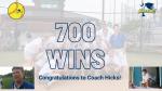 Coach Hicks 700th Win