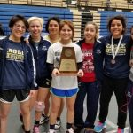 Girls' Wrestling Wins 4th Straight District Title