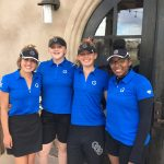 Girls Varsity Golf finishes 8th place at Invitational @ Harmony Golf Club