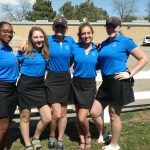 Girls Varsity Golf finishes 5th place at Tournament @ Olde Golf Course