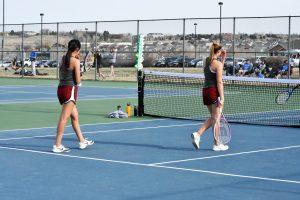 Girls Tennis Vs Silver Creek 4/10