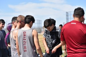 Track JV at Greeley West Invite