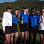 Girls Varsity Golf finishes 2nd place at Tournament @ Estes Park GC