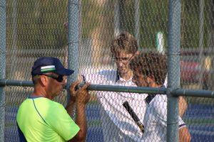 Boys Tennis vs. Highland  8/13/18