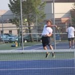 Boys Varsity Tennis finishes 1st place at NP Early Season Rumble Tennis Tournament