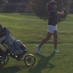 Ladies Cougars split NIC tilt in Varsity Golf at Legacy Hills