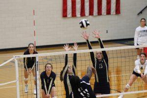 JV Volleyball vs. Michigan City 8/16/18