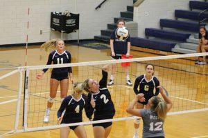 Varsity Volleyball vs. Michigan City 8/17/18