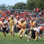 South Bend Tribune Article:  Tyler leads New Prairie rout of LaPorte