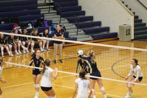 JV Volleyball vs. South Bend St. Joe 8/23/18