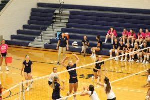 Varsity Volleyball vs. South Bend St. Joe 8/24/18