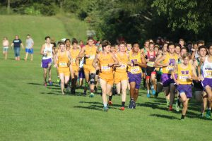 2018 Fall Rewind:  Boys Cross Country @ Cougar Kick-off 9/4/18 (Photo Gallery)