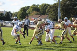 JV Football vs. South Bend St. Joe  9/10/18 (Photo Gallery)