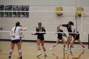 Varsity Volleyball vs. Mishawaka Marian 9/11/18 (Photo Gallery)