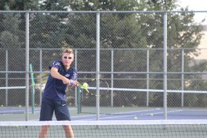 Boys Tennis vs. Mishawaka Marian 9/13/18 (Photo Gallery)