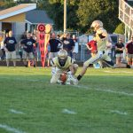 South Bend Tribune Article:  Snyder interception helps Mishawaka hold off New Prairie