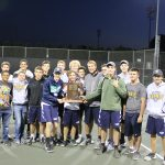 Boys varsity tennis beats Michigan City in Sectional final for first championship!