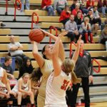 The Lady Cougars fall to the Pilgrims