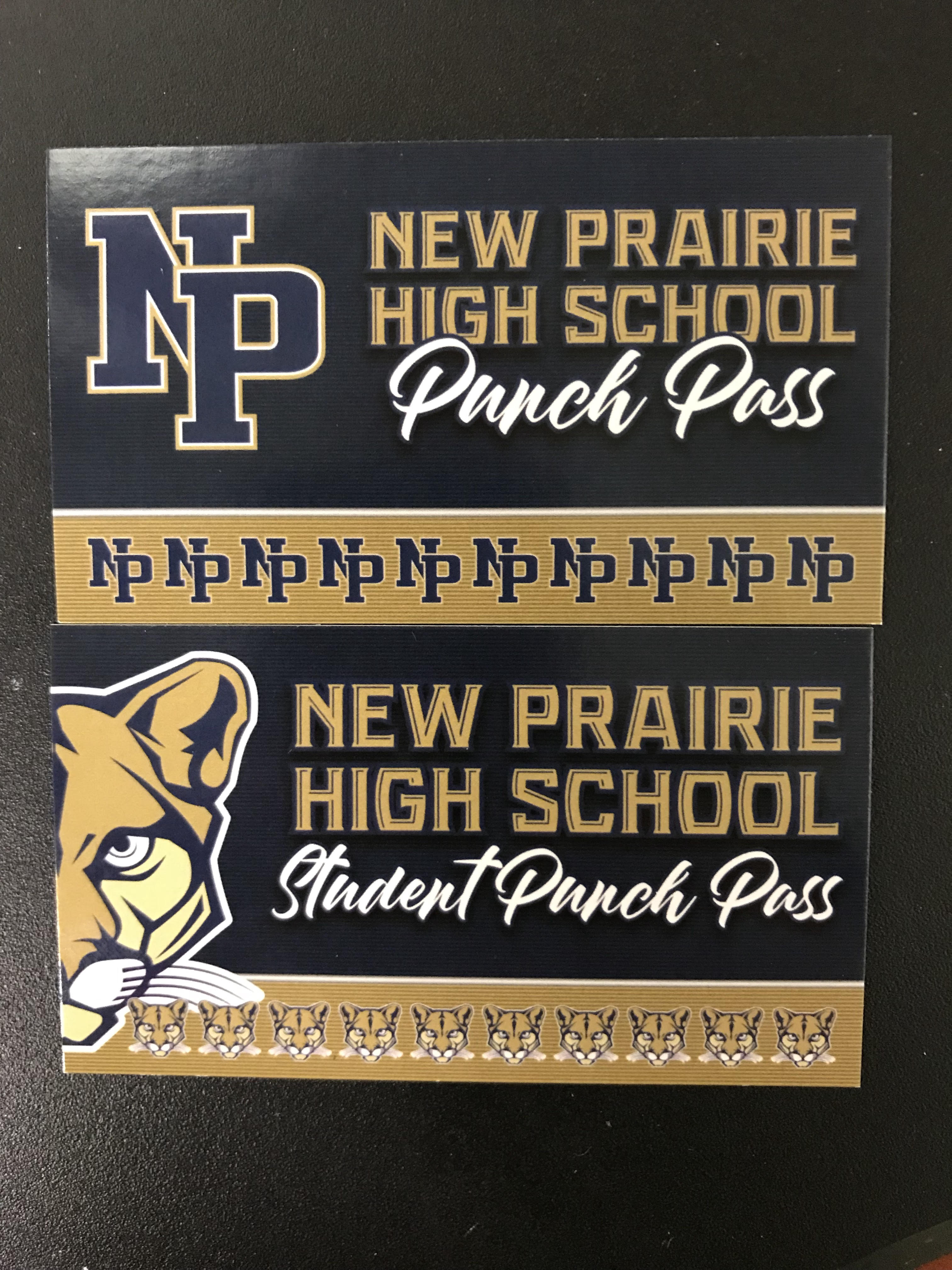 REMINDER:  Punch Passes are available!