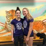 Hancock and Swistek Compete at Indiana Elite North vs South Volleyball Showcase