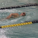 Girls Varsity Swimming falls to South Bend Riley 135 – 48