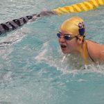 Girls Varsity Swimming falls to Michigan City 117 – 68