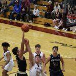 Boys Varsity Basketball falls to Jimtown 35 – 30