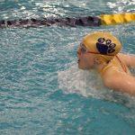 Girls Varsity Swimming beats NorthWood 119 – 66