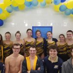 Girls Varsity Swimming beats South Bend Clay 102 – 81